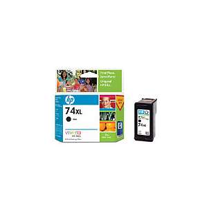 Original Hewlett Packard (HP) CB336WN (HP 74XL ink) inkjet cartridge - high capacity black