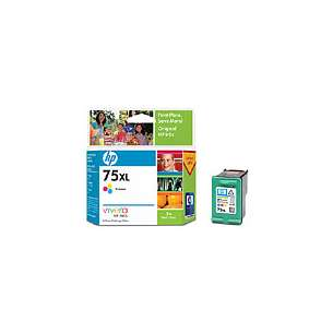 Original Hewlett Packard (HP) CB338WN (HP 75XL ink) inkjet cartridge - high capacity color