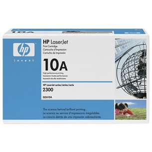 Original Hewlett Packard (HP) Q2610A (10A) toner cartridge - black cartridge