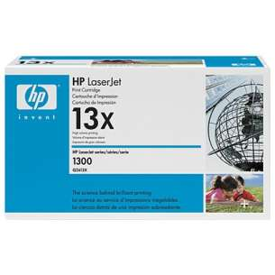 Original Hewlett Packard (HP) Q2613X (13X) toner cartridge - high capacity black