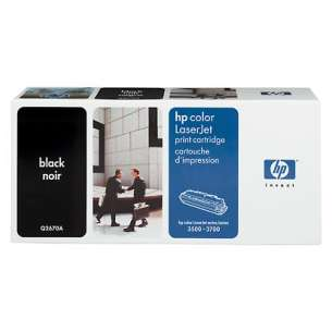 Original Hewlett Packard (HP) Q2670A (308A) toner cartridge - black cartridge