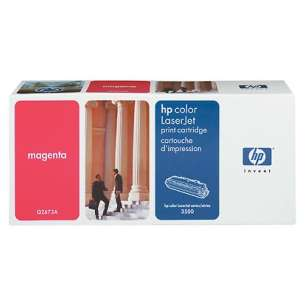 Original Hewlett Packard (HP) Q2673A (309A) toner cartridge - magenta