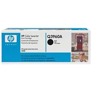 Original Hewlett Packard (HP) Q3960A (122A) toner cartridge - black cartridge