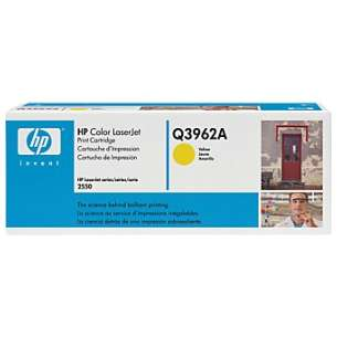 Original Hewlett Packard (HP) Q3962A (122A) toner cartridge - yellow