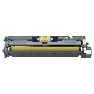 Original Hewlett Packard (HP) Q3972A (123A) toner cartridge - yellow