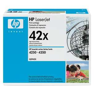 Original Hewlett Packard (HP) Q5942X (42X) toner cartridge - high capacity black