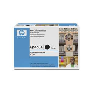 Original Hewlett Packard (HP) Q6460A (644A) toner cartridge - black cartridge