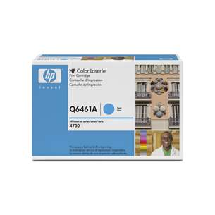 Original Hewlett Packard (HP) Q6461A (644A) toner cartridge - cyan