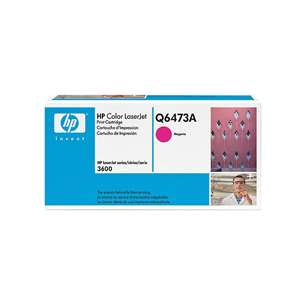Original Hewlett Packard (HP) Q6473A (502A) toner cartridge - magenta