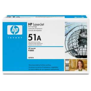 Original Hewlett Packard (HP) Q7551A (51A) toner cartridge - black cartridge