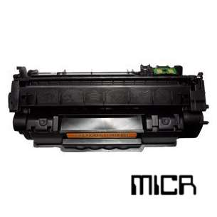 Compatible for HP Q7553A (53A) toner cartridge - MICR black