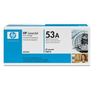 Original Hewlett Packard (HP) Q7553A (53A) toner cartridge - black cartridge
