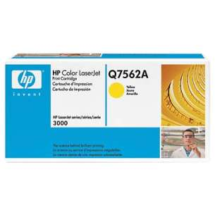 Original Hewlett Packard (HP) Q7562A (314A) toner cartridge - yellow
