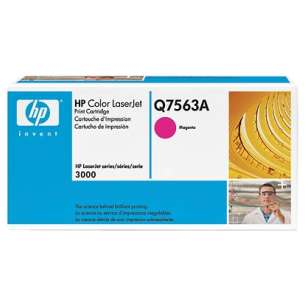 Original Hewlett Packard (HP) Q7563A (314A) toner cartridge - magenta