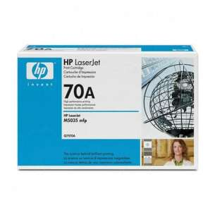 Original Hewlett Packard (HP) Q7570A (70A) toner cartridge - black cartridge