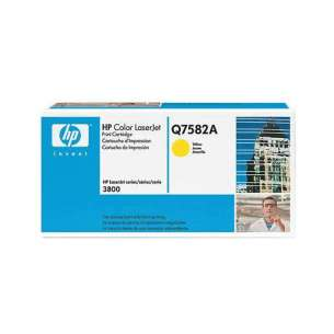 Original Hewlett Packard (HP) Q7582A (503A) toner cartridge - yellow