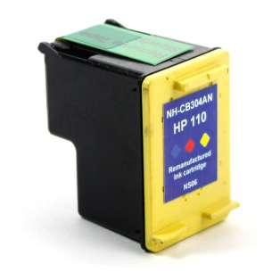Remanufactured HP CB304AN (HP 110 ink) inkjet cartridge - color cartridge