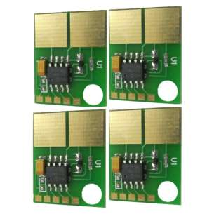 Same Page Yield as OEM - compatible chip for HP 1500 / 2500 / 2550