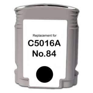 Remanufactured HP C5016A (HP 84 ink) inkjet cartridge - black cartridge