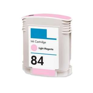 Remanufactured HP C5018A (HP 84 ink) inkjet cartridge - light magenta