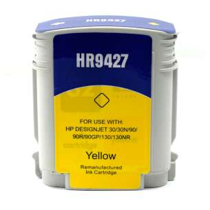 Remanufactured HP 85 inkjet cartridge - yellow