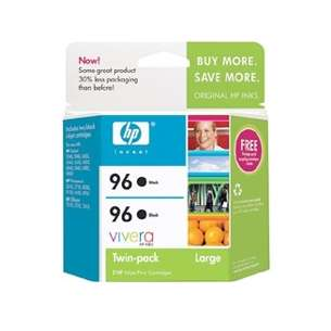 Original Hewlett Packard (HP) C9348FN (HP 96) Multipack - 2 pack