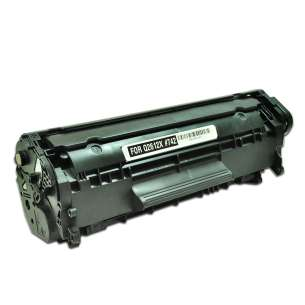 Compatible for HP Q2612X (12X) toner cartridge - high capacity black