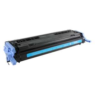 Compatible for HP Q6001A (124A) toner cartridge - cyan