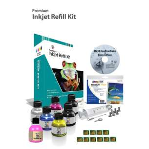 Durafirm Ink Refill Kit for refilling the Kodak #30 with Chips