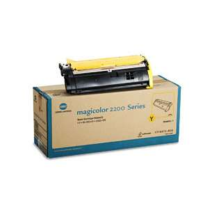 Original Konica Minolta 1710471-002 toner cartridge - yellow