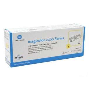 Original Konica Minolta 1710587-005 toner cartridge - high capacity yellow
