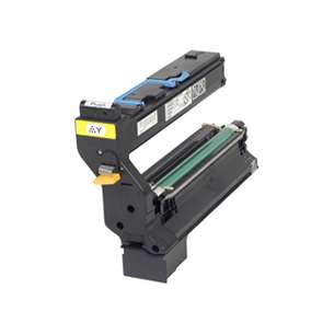 Original Konica Minolta 1710602-002 toner cartridge - yellow
