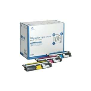 Original Konica Minolta 1710587-005 / 1710587-006 / 1710587-007 toner cartridges - 3-pack