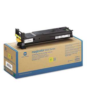 Original Konica Minolta A06V233 toner cartridge - high capacity yellow