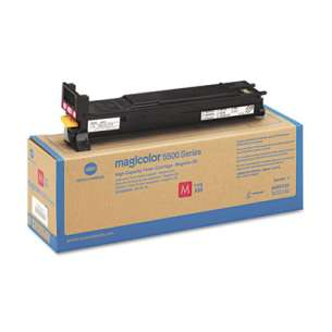 Original Konica Minolta A06V333 toner cartridge - high capacity magenta