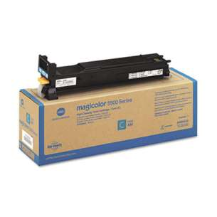 Original Konica Minolta A06V433 toner cartridge - high capacity cyan