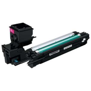 Compatible Konica Minolta A0WG0DF toner cartridge - high capacity magenta