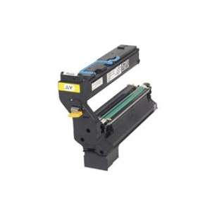 Original Konica Minolta 1710580-002 toner cartridge - yellow