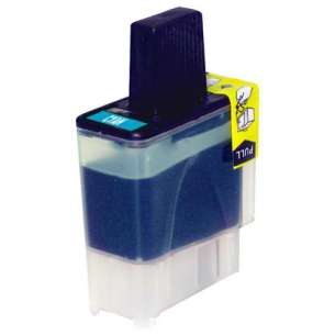 Compatible ink cartridge to replace Brother LC41C - cyan