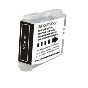 Compatible ink cartridge to replace Brother LC51Bk - black cartridge