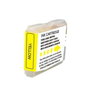 Compatible ink cartridge to replace Brother LC51Y - yellow