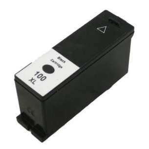 Compatible Lexmark 14N1092 (#100XL ink) inkjet cartridge - high capacity black
