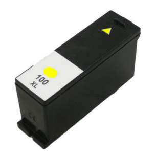 Compatible Lexmark 14N1095 (#100XL ink) inkjet cartridge - high capacity yellow