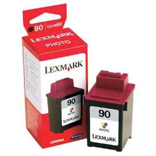 Original Lexmark 12A1990 (#90 ink) inkjet cartridge - photo