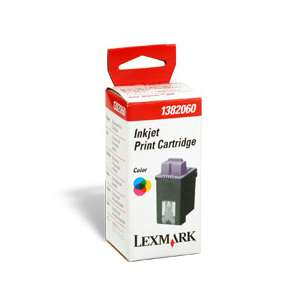 Original Lexmark 1382060 inkjet cartridge - color cartridge