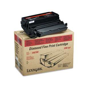 Original Lexmark 1382100 toner cartridge - black cartridge