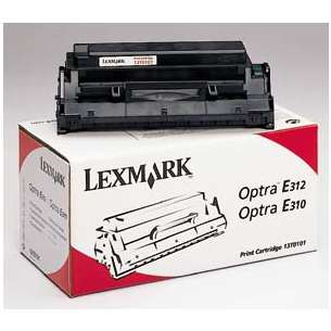 Original Lexmark 13T0101 toner cartridge - black cartridge