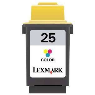 Original Lexmark 15M0125 (#25 ink) inkjet cartridge - color cartridge