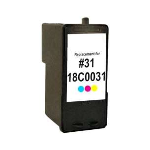 Remanufactured Lexmark 18C0031 (#31 ink) inkjet cartridge - photo