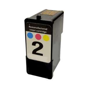 Remanufactured Lexmark 18C0190 (#2 ink) inkjet cartridge - photo